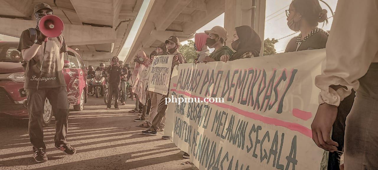Peringati Hari ISD, APD Lakukan Aksi Demonstrasi